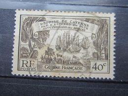 "VEND TIMBRE DE GUYANE N° 137 , OBLITERATION "" CAYENNE "" !!! - Französisch-Guayana (1886-1949)"