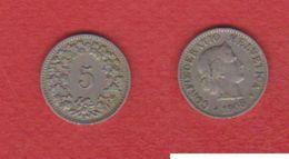 Suisse  / 5 Rappen 1908 / TTB - Schweiz