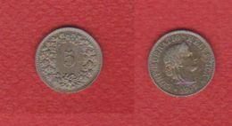 Suisse  / 5 Rappen 1907 / TTB - Schweiz