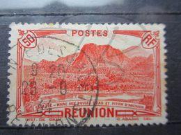 """VEND TIMBRE DE LA REUNION N° 136 , OBLITERATION """" POINTE DES GALETS """" !!! - Reunion Island (1852-1975)"""