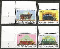 Belgium - 1986 Antique Autos MNH **    Sc B1052-5 - Belgium