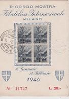 ITALIE 1946 CARTE SOUVENIR DE MILAN - 6. 1946-.. Repubblica