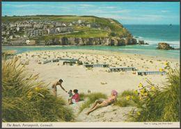 The Beach, Perranporth, Cornwall, C.1970s - John Hinde Postcard - England