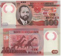 MOZAMBIQUE  New 100  Meticais   POLIMER  NEW  DATE   16.06.2017      UNC - Mozambique