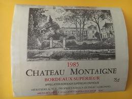 6902 -  Château Montaigne 1985 - Bordeaux