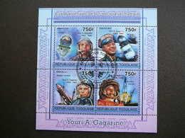 Gagarin Space Raumfahrt. Espace # Togo # 2011 Used S/s # Vostok - Space