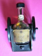 Mignonnette Canon Cognac COURVOISIER Luxe *** - Bouteille - Vintage - Miniatures