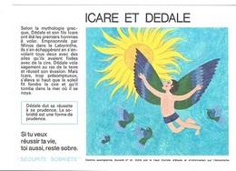 Buvard  N°  21  SANTE  SOBRIETE  Avec  ICARE  ET  DEDALE - Collections, Lots & Séries