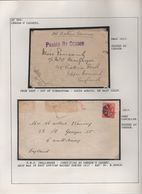 ROYAL NAVY EAST AFRICA WORLD WAR ONE SOUTH AFRICA NAVAL CENSOR - South Africa (...-1961)
