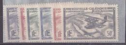 Nouvelle-Calédonie N°29 à 34** P.A - New Caledonia