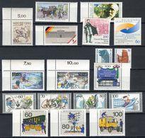 Berlin Lot Postfrische Marken 1990 (16917) - Ungebraucht