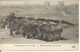 ARMEE BELGE 1914-1918 BELGISCHE SOLDATEN 3 KAARTEN - Guerre 1914-18