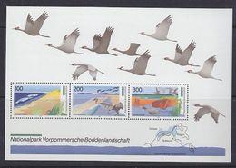Germany 1996 Nationalpark Vorpommersche Boddenlandschaft M/s ** Mnh (GERM201) - [7] West-Duitsland