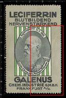 German Poster Stamp, Reklamemarke, Cinderella, Leciferrin, Galenus, Georg II, Duke Of Saxe-Meiningen - Famous People