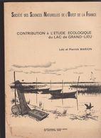 L. P. MARION -contribution Ecologique Lac Grand-lieu 44 France Nantes-ST Mars Coutais Passay Leger Vignes Philibert - Nature