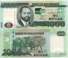 MOZAMBIQUE    1'000  Meticais    P154   Dated 16.06.2011      UNC - Mozambique