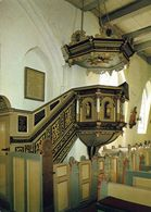 1 AK Germany Schleswig-Holstein * Kanzel In Der St.-Clemens-Kirche In Büsum - Erbaut Im 15. Jh. - Buesum