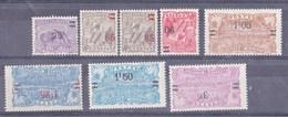 Guyane N° 97 à 105** Sans Le 98 - Unused Stamps