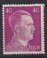 Germany 1941-44  Adolf Hitler  (*) MM  Mi.795 - Alemania