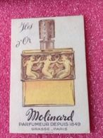 ILES D'OR MOLINARD GRASSE - Perfume Cards