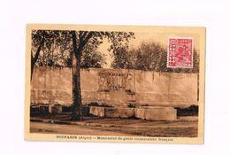 Boufarik (Alger).Monument Du Génie Colonisateur Français.Expédié à Alger. - Algeria