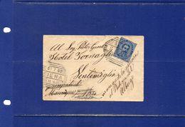 ##(ANT182)-31-7-1892-Siena- Bustina Con Cent.25 Per Hotel A Ventimiglia, Reindirizzata A Nizza (Principato Di Monaco?!) - 1878-00 Umberto I