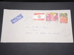 POLYNÉSIE - Enveloppe De Papeete Pour La France En 2003 , Affranchissement Plaisant - L 13210 - Polynésie Française