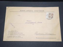 BOHÈME ET MORAVIE - Enveloppe De Choteborg  - L 13215 - Lettres & Documents
