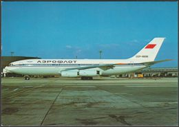 Aeroflot Ilyushin 86 CCCP 86058 - Aviation Hobby Shop Postcard - 1946-....: Moderne