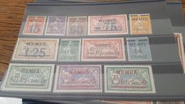 LOT 386029 TIMBRE DE COLONIE MEMEL NEUF* - Memel (1920-1924)