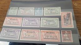 LOT 386030 TIMBRE DE COLONIE MEMEL NEUF* - Memel (1920-1924)
