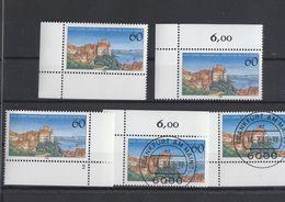 Deutschland BRD  ** Und Gestempelt  1376 Meersburg 5 Stück Eckrand  Katalog 7,20 - BRD
