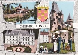 79-----RARE---CHEF-BOUTONNE--multivues + Blason --voir 2 Scans - Chef Boutonne