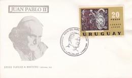 JUAN PABLO II, VISITA DEL PAPA '88.-URUGUAY-TBE-BLEUP - Christianity