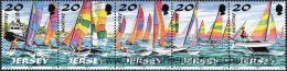 Jersey 1998, Mi. 831-40 ZD ** - Jersey