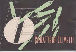 Olivetti Caratteri Macchina Da Scrivere  Anni 40 - Publicités