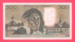 Lot De 1 Billet 500 Frcs - Unclassified