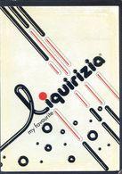CPSM  Autocollante - Cartolina Adesiva - My Favourite Liquirizia - Publicité