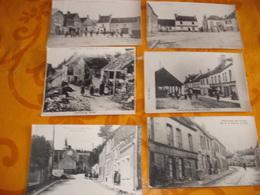 LOT DE 12 PHOTOS ANCIENNES DE CHATILLON SUR MARNE 11CMX17.5 CM - Châtillon-sur-Marne