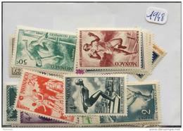 Monaco Années Completes ** (Luxe) 1948 (34 Timbres) - Monaco
