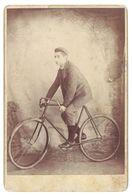 Photo Sur Carton Cycliste, Cyclisme, 1897 - Cyclisme