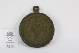 Old Religious Medal - Sanct Ignatius De Loyola - Spanish Medal - Religión & Esoterismo