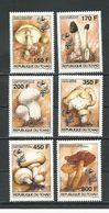 TCHAD  Scott 647-652 Yvert 562-567 (6) ** Cote 9,25$ 1995 - Tchad (1960-...)