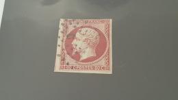 LOT 386044 TIMBRE DE FRANCE OBLITERE N°17A - 1853-1860 Napoleon III