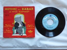 B.O.F BABAR EN FAMILLE  Sous Label FESTIVAL ALB 5003 M AVEC UN LIVRET DE 16 P - Soundtracks, Film Music