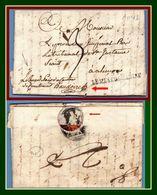 59 LE MESLE.SARTHE 42X9 Du 9 Vendemiaire An 13 (30/9/1792)  Juge Paix Courtomer > Procur. Roi Alençon (ind 14 > 140€) TB - Postmark Collection (Covers)