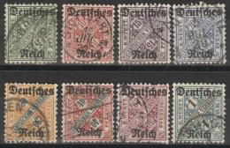 Deutsches Reich Dienst 57/64 O - Dienstpost