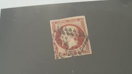 LOT 386056 TIMBRE DE FRANCE OBLITERE N°17A - 1853-1860 Napoleon III