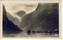 LOEN STRYN NORGE  PANORAMA  1928 - Noorwegen