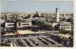 CASABLANCA PLACE DES NATIONS UNIES ET LES BATIMENTS ADMINISTRATIFS - Postcards